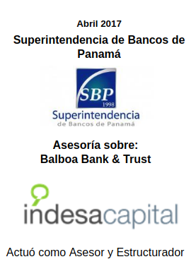 ABRIL 2017 - SUPERBANCOS