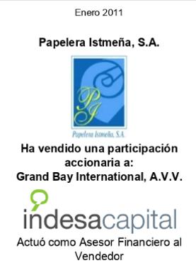 ENERO 2011 - PAPELERA ISTMEÑA