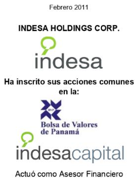 FEB 2011 - INDESA