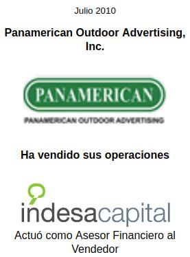 JULIO 2010 - PANAMERICAN