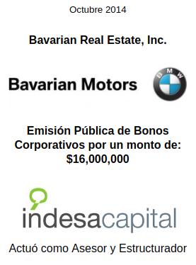 OCT 2014 - BAVARIAN MOTORS