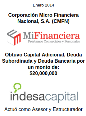 ENERO 2014 - MIFINANCIERA