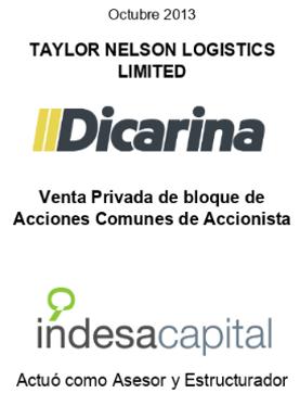 OCT 2013 - DICARINA